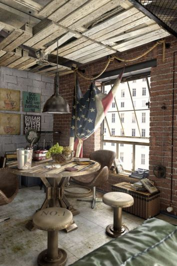 Creative apartment decorations ideas for guys 85