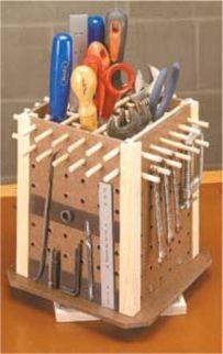 Creative garden tool storage ideas (4)