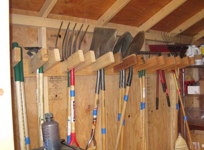 Creative garden tool storage ideas (8)