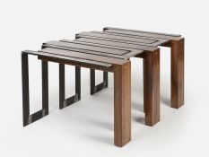 Creative metal and wood furniture 02