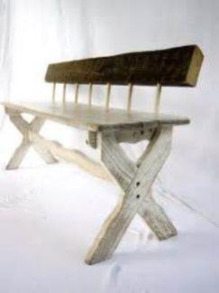 Creative metal and wood furniture 06