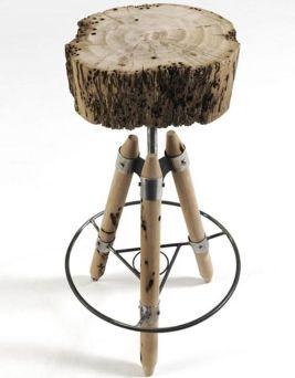 Creative metal and wood furniture 13