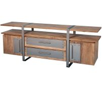 Creative metal and wood furniture 15