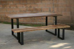 Creative metal and wood furniture 17