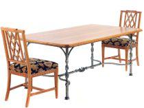 Creative metal and wood furniture 37