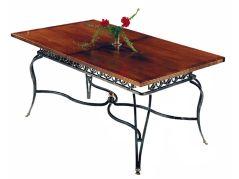 Creative metal and wood furniture 39