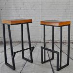 Creative metal and wood furniture 53
