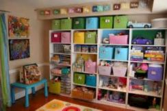 Creative toy storage ideas for living room 12