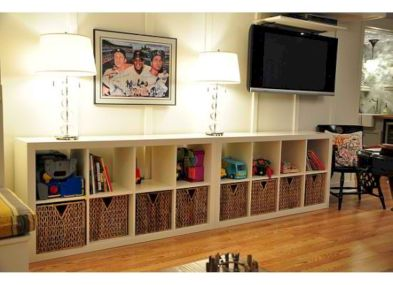 Creative toy storage ideas for living room 29