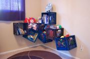 Creative toy storage ideas for living room 35