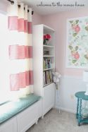 Cute bedroom design ideas with pink and green walls 82