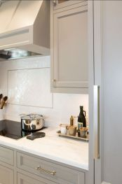 Gray color kitchen cabinets 25
