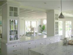 Half wall kitchen designs 04