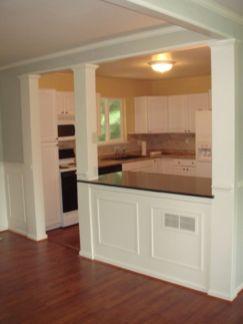 Half wall kitchen designs 11