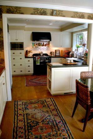 Half wall kitchen designs 14