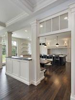 Half wall kitchen designs 26