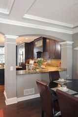 Half wall kitchen designs 28