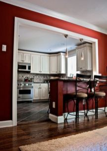 Half wall kitchen designs 31