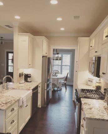 Half wall kitchen designs 40