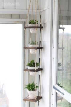 Incredible indoor hanging herb garden (21)