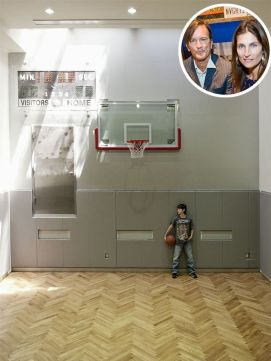 Inspiring bedroom design ideas for boy who loves basketball 05