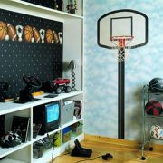 Inspiring bedroom design ideas for boy who loves basketball 07