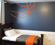 Inspiring bedroom design ideas for boy who loves basketball 12