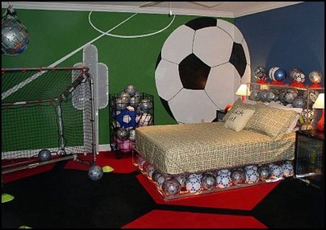 Inspiring bedroom design ideas for boy who loves basketball 23