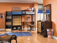 Inspiring bedroom design ideas for boy who loves basketball 32