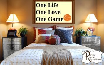 Inspiring bedroom design ideas for boy who loves basketball 35