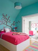 Inspiring bedroom design ideas for teenage girl 11
