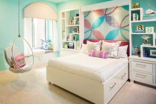 Inspiring bedroom design ideas for teenage girl 81