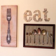 Inspiring kitchen wall art ideas 59