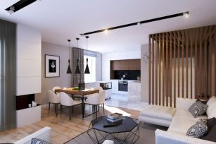 Inspiring modern studio apartment design ideas (4)