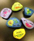 Inspiring painted rocks for garden ideas (21)