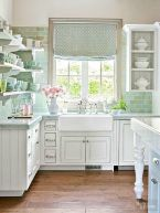 Kitchens design ideas with green walls 08