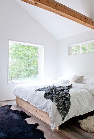 Modern bedroom design ideas with minimalist touch 55