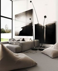 Modern bedroom design ideas with minimalist touch 81
