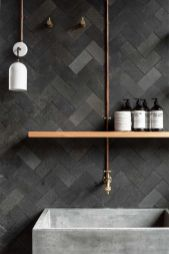 Modern small bathroom tile ideas 014