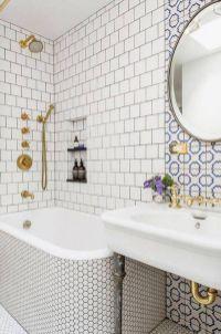 Modern small bathroom tile ideas 111