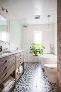 Modern small bathroom tile ideas 113