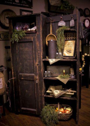 Old kitchen cabinet 16