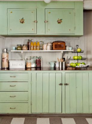Old kitchen cabinet 32