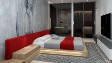 Stunning bedrooms interior design with luxury touch 03
