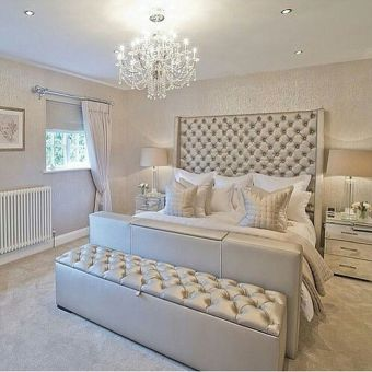 Stunning bedrooms interior design with luxury touch 51