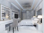Stunning bedrooms interior design with luxury touch 69