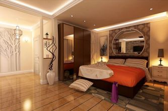 Stunning bedrooms interior design with luxury touch 78