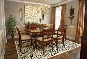 Stunning dining room area rug ideas 07