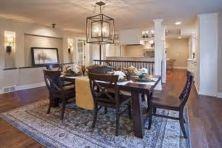 Stunning dining room area rug ideas 10