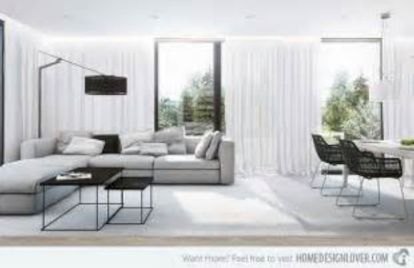 Stunning gray and white living room decor ideas 07